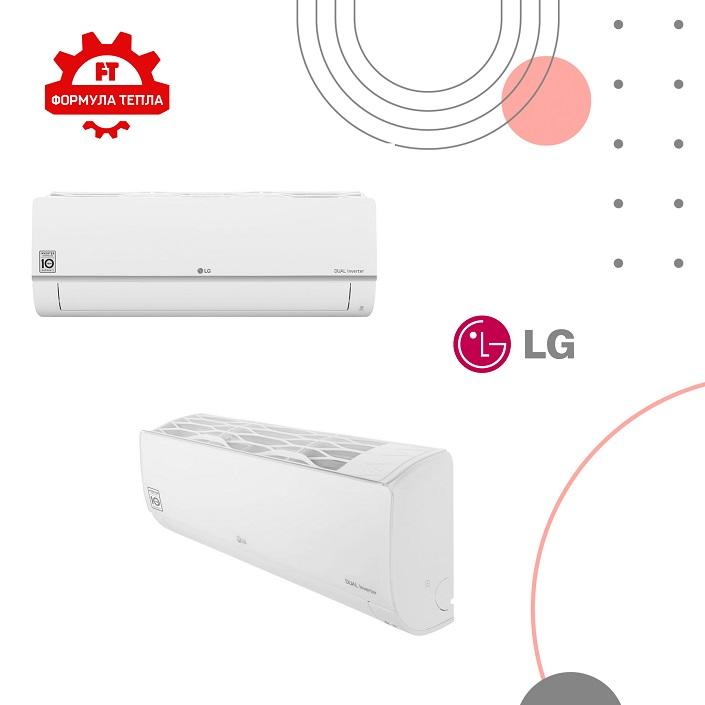 """Кондиціонери """"LG"""" - новинка в інтернет-магазині """"Формула тепла"""""""