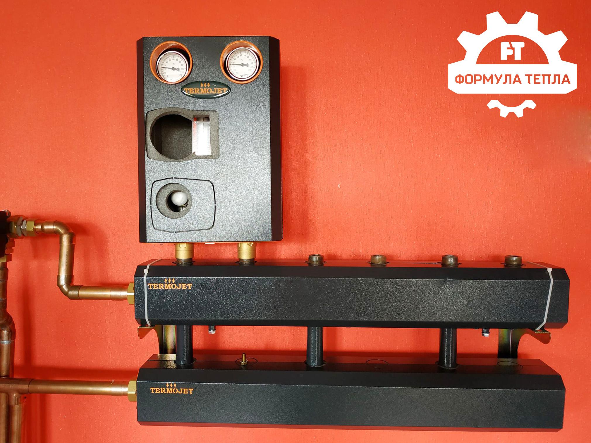 """Труби та фітинг: в інтернет-магазині """"Формула тепла"""" доступне обладнання для котелень «Termojet»"""